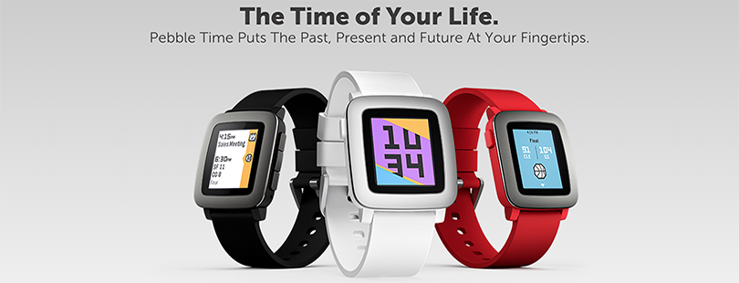 Pebble Time Smartwatches for #evoHaX Winners!